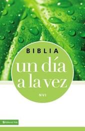 Biblia un día a la vez NVI / NIV Once-a-Day Bible