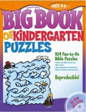 Big Book of Kindergarten Puzzles