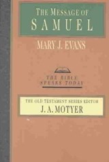 The Message of Samuel | Mary J. Evans |