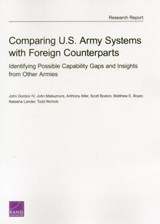 Comparing U.S. Army Systems With Foreign Counterparts | Gordon, John, Iv |