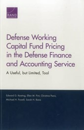 Defense Working Capital Fund Pricing in the Defense Finance and Accounting Service
