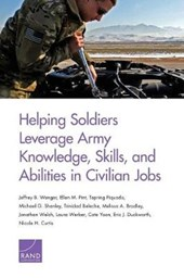 Helping Soldiers Leverage Army Knowledge, Skills, and Abilities in Civilian Jobs | Jeffrey B. Wenger |