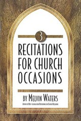 Recitations for Church Occasions 3 | Melvin Waters |