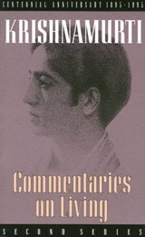 Commentaries on Living | Jiddu Krishnamurti |