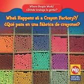What Happens at a Crayon Factory?/Que Pasa En Una Fabrica de Crayones?