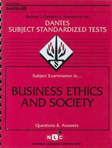 Business Ethics and Society | Jack Rudman |