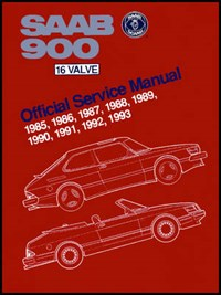 SAAB 900 16 Valve Official Service Manual | Bentley Publishers |