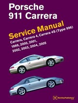 Porsche 911 (Type 996) Service Manual 1999, 2000, 2001, 2002, 2003, 2004, 2005 | Bentley Publishers |