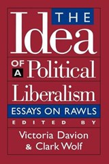 The Idea of a Political Liberalism |  |