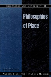 Philosophy and Geography III