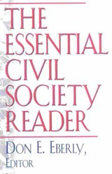 The Essential Civil Society Reader | Don E. Eberly |