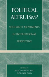 Political Altruism?