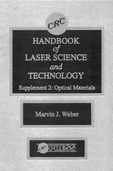 CRC Handbook of Laser Science and Technology | Marvin J. Weber |