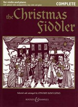 The Christmas Fiddler. Violine (2 Violinen) und Klavier, Gitarre ad lib.. | Huws Jones |