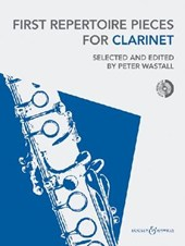 First Repertoire Pieces for Clarinet [With CD (Audio)]