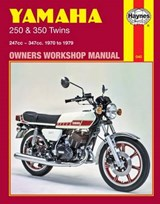 Haynes Yamaha 250 & 350 Twins Owners Workshop Manual | Jeff Clew |