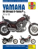 Yamaha XV (Virago) V-Twins '81 to '03 Service and Repair Manual | Ahlstrand, Alan ; Haynes, John Harold |