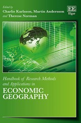 Handbook of Research Methods and Applications in Economic Geography |  |