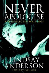 Never Apologise | Anderson, Lindsay ; Ryan, Paul |
