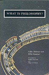 What is Philosophy? | Gilles Guattari Deleuze |