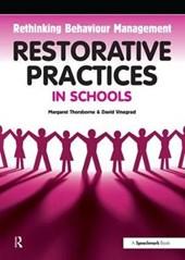 Restorative Practices in Schools
