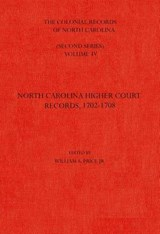 The Colonial Records of North Carolina, Volume |  |