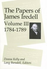 The Papers of James Iredell, Volume III |  |