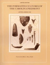 The Formative Cultures of the Carolina Piedmont
