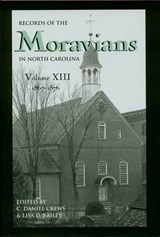 Records of the Moravians in North Carolina, Volume | auteur onbekend |