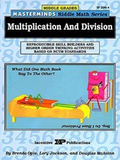 Masterminds Riddle Math for Middle Grades