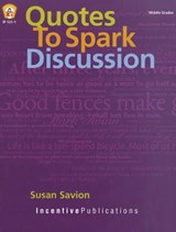 Quotes to Spark Discussion | Susan Savion |