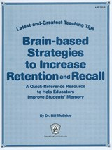 Brain-based Strategies to Increase Retention & Recall | Bill McBride |