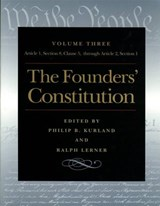 Founders' Constitution | Philip B. Kurland |