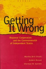 Getting It Wrong | Martha Brill Olcott |