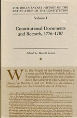 The Documentary History of the Ratification of the Constitution, Volume I | Kamisnki |