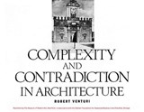 Complexity and contradiction in architecture | Robert Venturi |