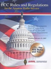 FCC Rules and Regulations for the Amateur Radio Service