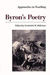Approaches to Teaching Byron's Poetry