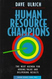 Human Resource Champions | David Ulrich |