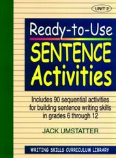 Ready-to-Use Sentence Activities