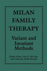 Milan Family Therapy | Esther Gelcer |