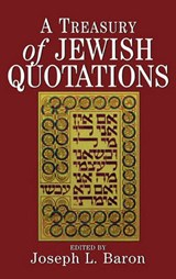 A Treasury of Jewish Quotations | auteur onbekend |