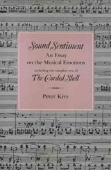 Sound Sentiment | Peter Kivy |