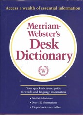 Merriam-Webster's Desk Dictionary | Merriam-Webster |