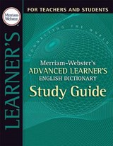 Merriam-Webster's Advanced Learner's English Dictionary | auteur onbekend |