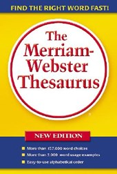 The Merriam-Webster Thesaurus |  |