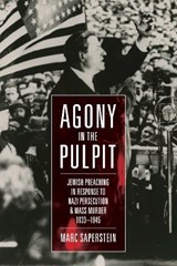 Agony in the Pulpit | Marc Saperstein |