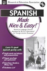 Spanish Made Nice & Easy | The Editors of Rea |