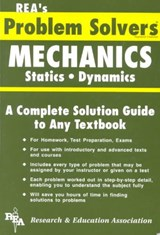Rea's Problem Solvers Mechanics Statics Dynamics | Research and Education Association |