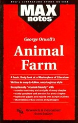 Animal Farm (Maxnotes Literature Guides) | Joseph E. Scalia |